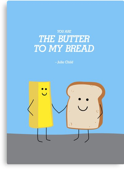Bread and Butter by jeannettewiley