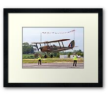 DH82 Queen Bee LF858 G-BLUZ Framed Print