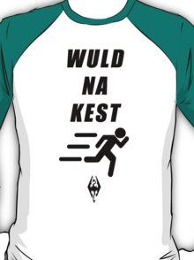 WULD NA KEST (Skyrim Shout Shirt) T-Shirt