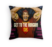 Burger Kong Throw Pillow