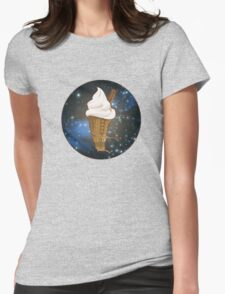 Dalek Ice-Cream a Treat in Space and Time Womens Fitted T-Shirt