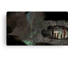 Asteroid City Mining at Big Dipper Nebulae Canvas Print