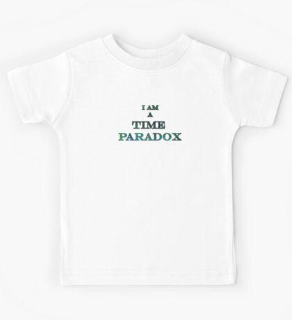 A time paradox... Kids Tee
