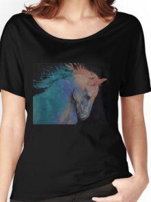 Stallion Women's Relaxed Fit T-Shirt