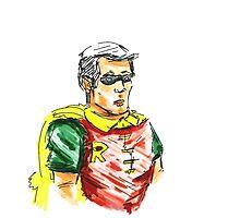 Robin the Boy Wonder by Carlos Castilla