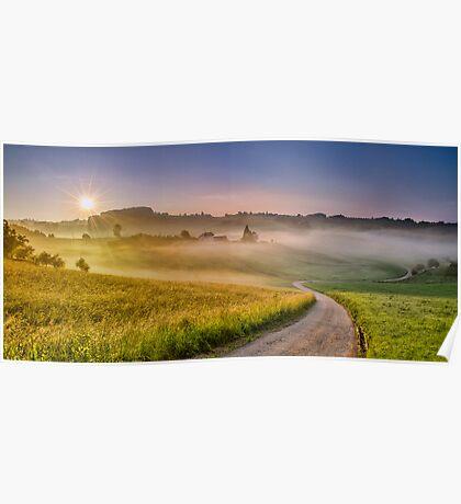 Sun vs. Fog Poster