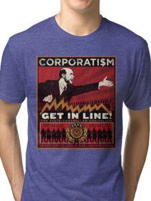 Corporatism Tri-blend T-Shirt