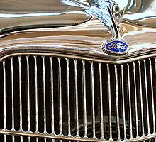 Henry's Ride Vintage Ford by Susan Bergstrom