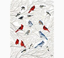 Winter Birds Classic T-Shirt