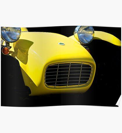 1964 Lotus Super 7 II Poster