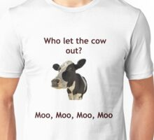 Funny Cow Song Joke Unisex T-Shirt