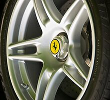 Enzo Wheel Detail I by DaveKoontz
