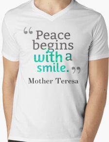 teresa Mens V-Neck T-Shirt