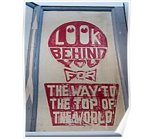Look Behind You Poster