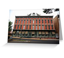 Las Vegas, New Mexico - Plaza Hotel Greeting Card
