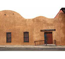 Las Vegas, New Mexico - Church Photographic Print