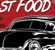Motor Age Fast Food Sticker