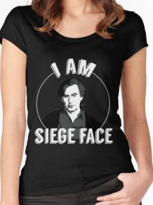 I am SIEGE FACE! Women's Fitted Scoop T-Shirt
