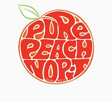 Pure Peach Fruit Artwork Large Unisex T-Shirt