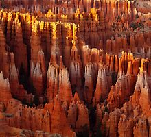 Sunset at Bryce Canyon  by algill