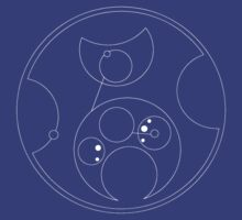 Blink Not (in Gallifreyan) White by castashadow