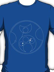 Blink Not (in Gallifreyan) White T-Shirt
