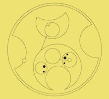 Blink Not (in Gallifreyan) Black by castashadow