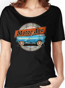 Motor Age Kick The Tires Women's Relaxed Fit T-Shirt