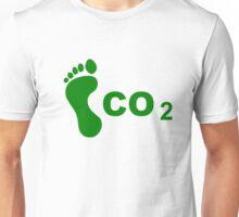CO2 Footprint Unisex T-Shirt