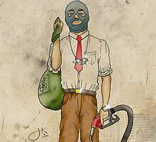 Urban Bandit by jrouye