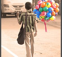 Off to work! by Vinod Vijayan