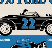 Motor Age Hot Rod Oil Sticker