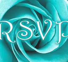 RSVP blue rose by maydaze