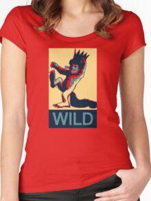 Max is Wild II Women's Fitted Scoop T-Shirt