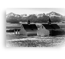 Westcliffe, CO-Mountains Canvas Print