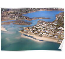 Chatham, Cape Cod Aerial Poster