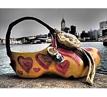 a shoe art bag in Hong Kong Photographic Print