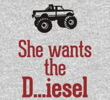 She wants the Diesel T-Shirt