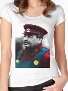 It's me, Stalin Women's Fitted Scoop T-Shirt