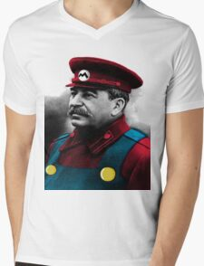 It's me, Stalin Mens V-Neck T-Shirt
