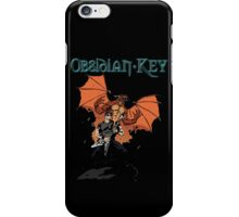 Obsidian Key - Sly Dragon and Sonic V - Progressive Rock Metal - Hand drawn iPhone Case/Skin