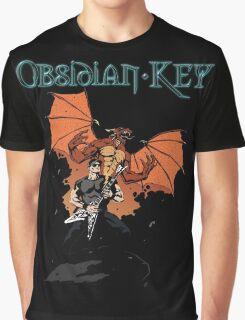Obsidian Key - Sly Dragon and Sonic V - Progressive Rock Metal - Hand drawn Graphic T-Shirt