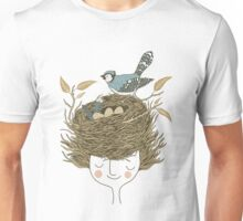 Bird Hair Day Unisex T-Shirt