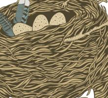 Bird Hair Day Sticker