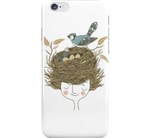 Bird Hair Day iPhone Case/Skin