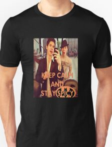 Keep Calm And Stay Spicy! Unisex T-Shirt