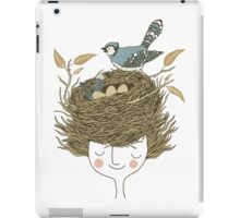 Bird Hair Day iPad Case/Skin