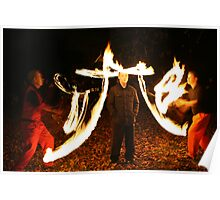 Fire Juggling Poster