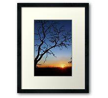 Greenhills Dawn Framed Print