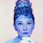 Audrey Hepburn in  Breakfast at Tiffany's by Art Cinema Gallery
